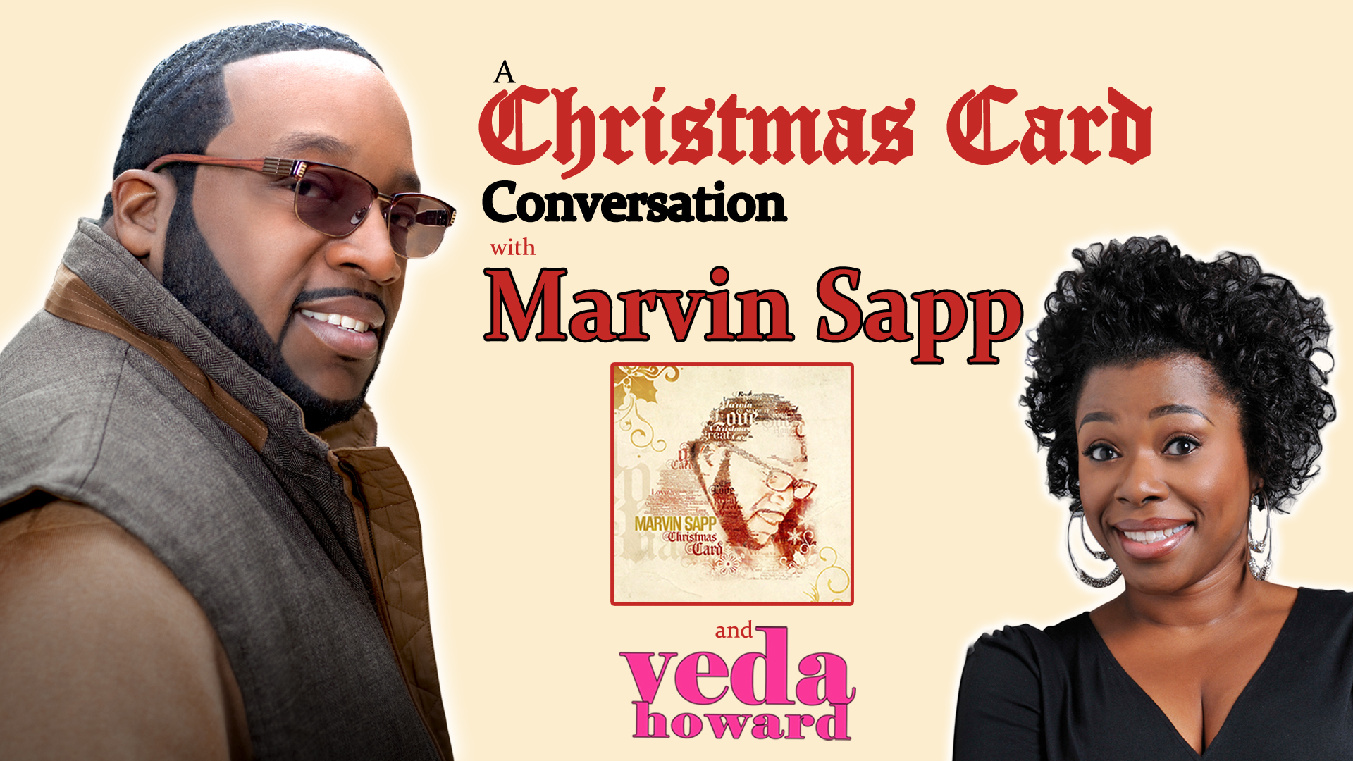 Marvin Sapp- Christmas Card