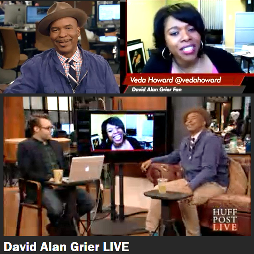 David Alan Grier Huff Post Live
