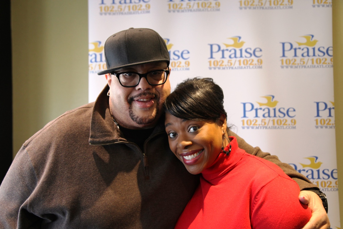 Fred Hammond and Veda Howard