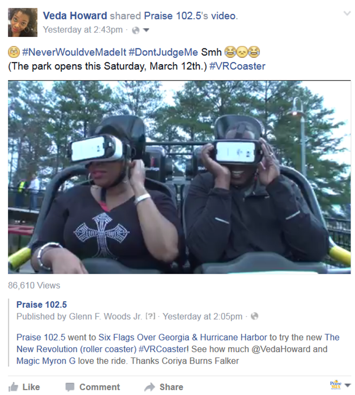 Six Flags Video FB